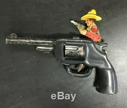Vintage WYANDOTTE ME AND MY BUDDY PISTOL GUN Toy Western Rare USA