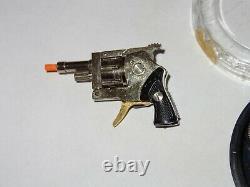Vintage XYTHOS Miniature Key Chain Toy Cap Gun Pistol
