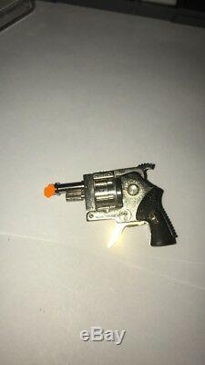 Vintage Xythos Austria Miniature Pin Fire Signal Cap Gun Revolver Original Box