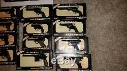 Vintage miniature armodelli uniwerk cap gun pistol collection remington colt