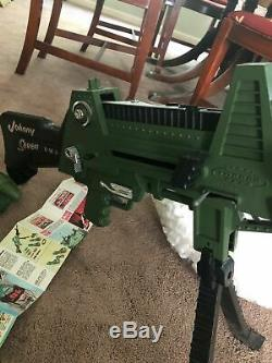 Vtg 1964 Johnny Seven O. M. A. One Man Army Gun Toy WithBox & Instructions