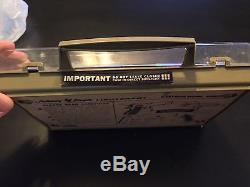 Vtg 1965 topper Johnny Eagle lieutenant toy cap gun with case instructions bullets