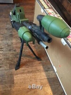 Vtg Antique 60s 1960s Johnny Seven OMA Topper Toys Original Machine Gun With Box