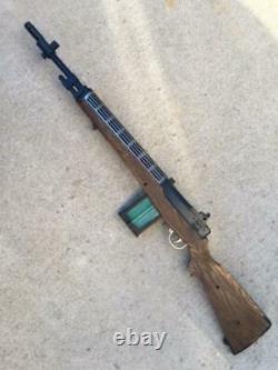 Vtg Johnny Eagle Lieutenant M-14 Rifle Toy Gun US Army Topper Division