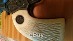 Vtg LONE RANGER Metal Western Toy CAP GUN Lot of 2 Set