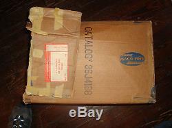 Vtg MACO ANTI AIRCRAFT GUN SET Partial Original Box Playset 1960's US NAVY TOY