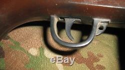 Vtg MARX US Army M14 Rifle Battery Operated Plastic Toy Gun FREE SHIPPING