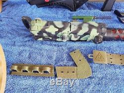 Vtg Remco Monkee Division Okinawa Gun + Marx + Sonic Blaster + Johnny Reb Canon