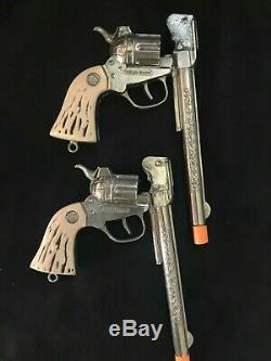 WELLS FARGO Cap Guns Holster and Bullets by Esquire/Actoy