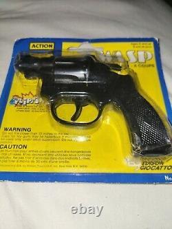 Wasp Edison Giocattoli8 shotToy Cap Gun NIB Very RARE