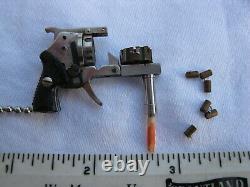 XYTHOS AUTOMATIC 6 SHOT Miniature 2 mm Pinfire Cap Gun / Toy Pistol (with AMMO!)