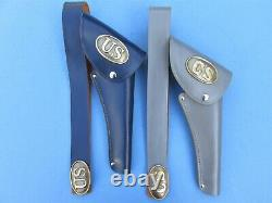 Your Choice Of One Or More CIVIL War Repro Holsters For Hubley Colt 45 Cap Gun